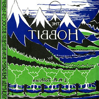 Cover of JRR Tolkien's The Hobbit